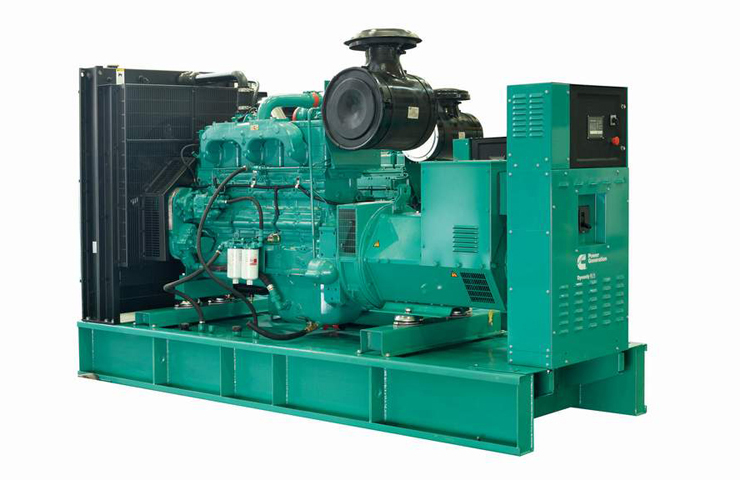 Open type Cummins Diesel Generator
